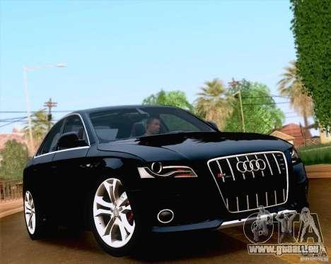 Audi S4 2010 pour GTA San Andreas salon