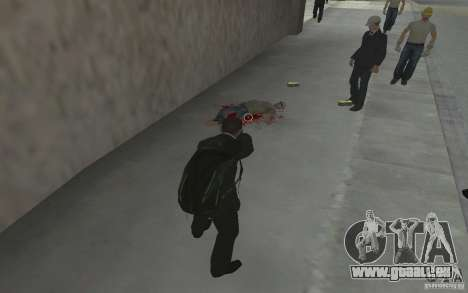 Animer le corps de GTA IV pour GTA San Andreas cinquième écran