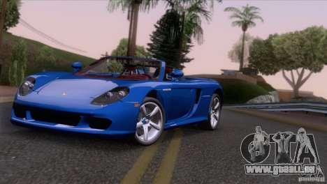 Porsche Carrera GT Custom pour GTA San Andreas