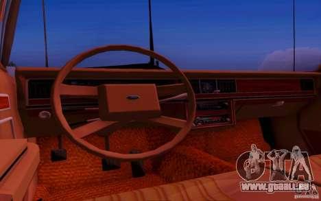 Ford Crown  Victoria LTD 1985 pour GTA San Andreas vue arrière