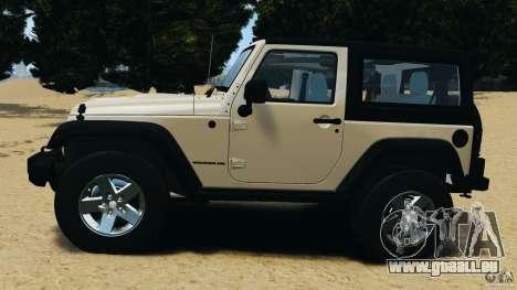 Jeep Wrangler Rubicon 2012 für GTA 4 linke Ansicht