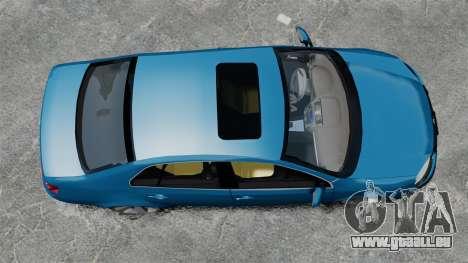 Volkswagen Jetta 2010 pour GTA 4 est un droit