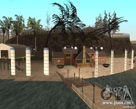 Villa in der Fischerei-Lagune für GTA San Andreas