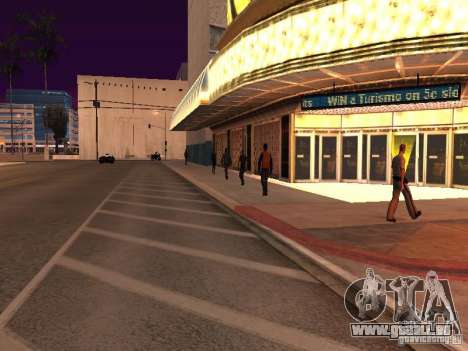 Parking Save Garages für GTA San Andreas achten Screenshot