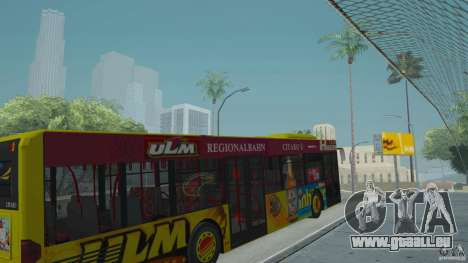 Mercedes-Benz Citaro G pour GTA San Andreas vue de droite
