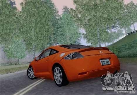 Mitsubishi Eclipse GT V6 pour GTA San Andreas vue intérieure