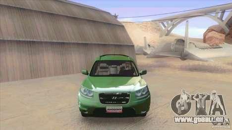 Hyundai Santa Fe 2009 für GTA San Andreas linke Ansicht