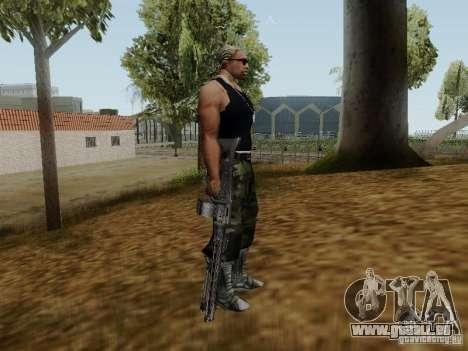 La mitrailleuse MG-42 pour GTA San Andreas quatrième écran