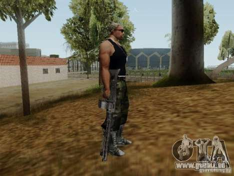 Das Maschinengewehr MG-42 für GTA San Andreas her Screenshot
