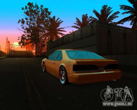 Khord ThunderWing für GTA San Andreas Rückansicht