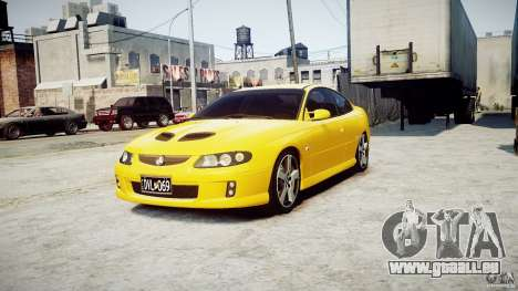Holden Monaro pour GTA 4