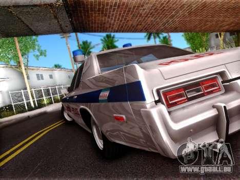 Dodge Monaco 1974 pour GTA San Andreas vue de droite