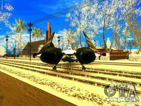 ADFX-02 Morgan für GTA San Andreas zurück linke Ansicht