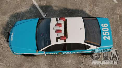 Declasse Merit Police Cruiser ELS für GTA 4 rechte Ansicht