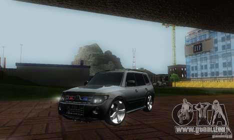 Mitsubishi Pajero FBI pour GTA San Andreas
