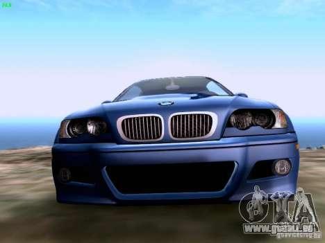 BMW M3 Tunable pour GTA San Andreas vue de droite