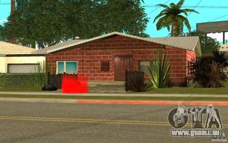 Nouvelles textures maison Denis pour GTA San Andreas cinquième écran