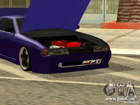 Elegy by W1nston4iK pour GTA San Andreas vue arrière