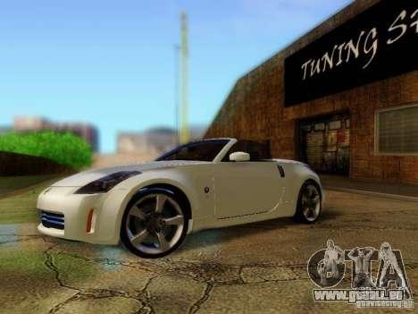 Nissan 350Z Cabrio für GTA San Andreas