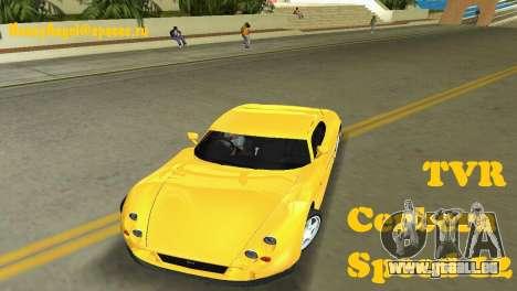 TVR Cerbera Speed 12 pour GTA Vice City