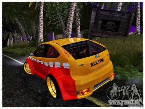 Ford Focus ST Calibri-Ace pour GTA San Andreas vue de droite