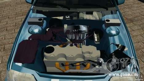 Chevrolet Kadett GSI pour GTA 4 vue de dessus