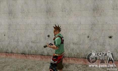 Peau substituer Fam1 pour GTA San Andreas deuxième écran