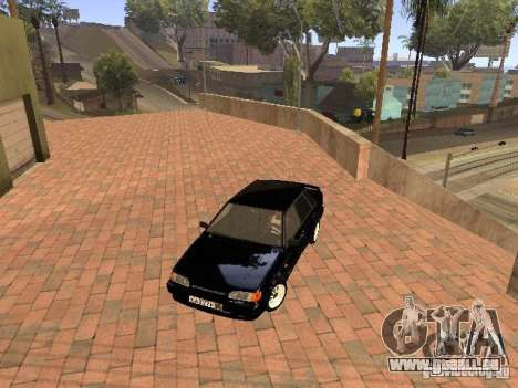 VAZ 2115 für GTA San Andreas obere Ansicht