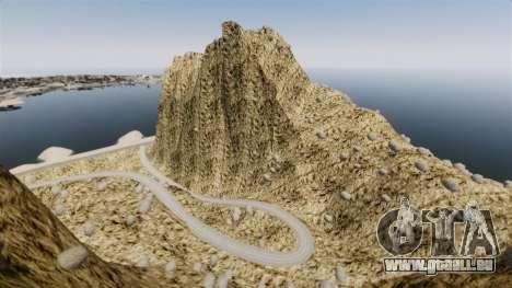 Berggipfel für GTA 4 Sekunden Bildschirm