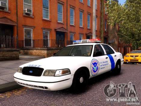 Ford Crown Victoria Homeland Security für GTA 4