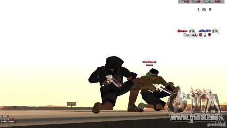 New Chrome Guns v1.0 für GTA San Andreas dritten Screenshot