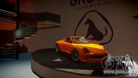 Comet Speedster pour GTA 4 Vue arrière de la gauche