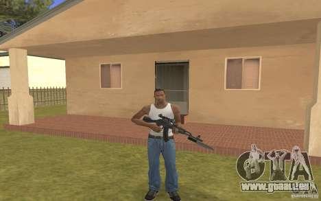AK-103 für GTA San Andreas zweiten Screenshot