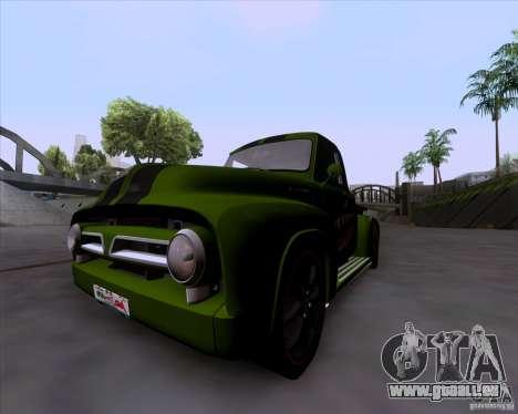 Ford FR-100 2003 pour GTA San Andreas laissé vue