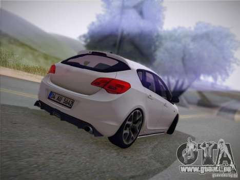 Opel Astra Senner Lower Project pour GTA San Andreas vue intérieure