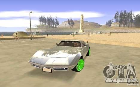 Chevrolet Corvette Stingray Monster Energy pour GTA San Andreas