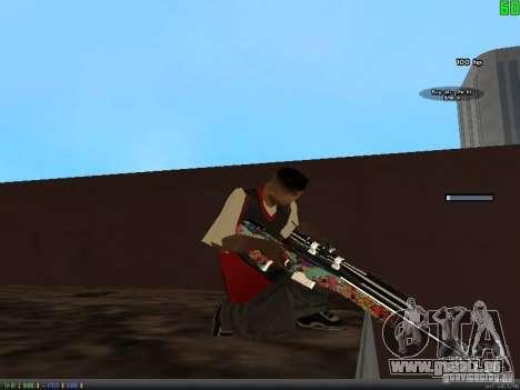 Graffiti Gun Pack pour GTA San Andreas cinquième écran