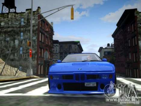 BMW M1 Replica für GTA 4 rechte Ansicht