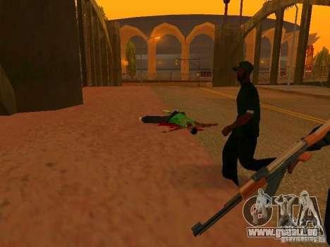 Grove Street Forever für GTA San Andreas dritten Screenshot
