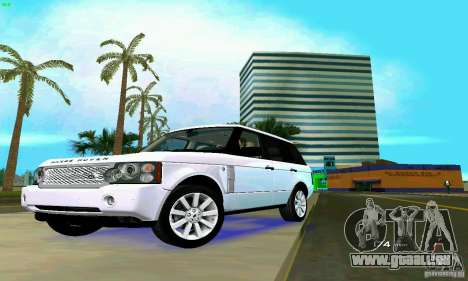 Land Rover Range Rover Supercharged 2008 für GTA Vice City