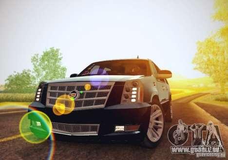 Cadillac Escalade ESV 2012 für GTA San Andreas