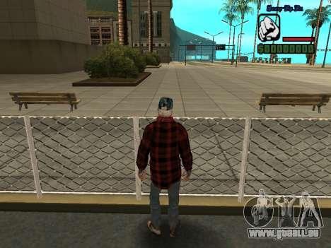 Haut die Bum Jacke für GTA San Andreas her Screenshot
