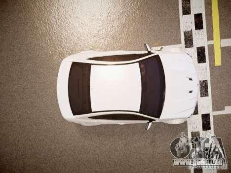 Mercedes-Benz C63 AMG Stock Wheel v1.1 für GTA 4 Rückansicht