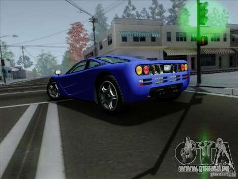 McLaren F1 1994 v1.0.0 pour GTA San Andreas vue de droite