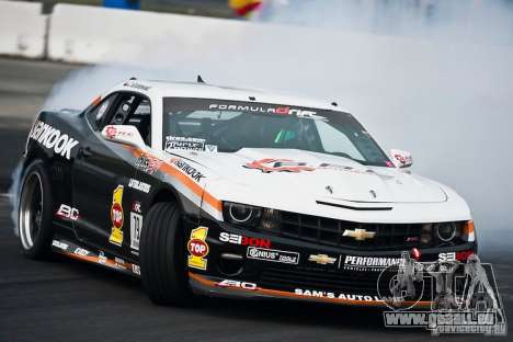 Chevrolet Camaro Hankook Tire pour GTA San Andreas vue de côté