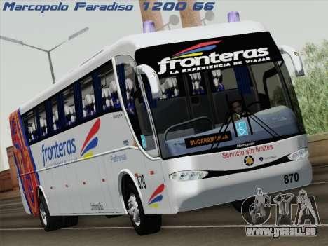 Marcopolo Paradiso 1200 G6 für GTA San Andreas