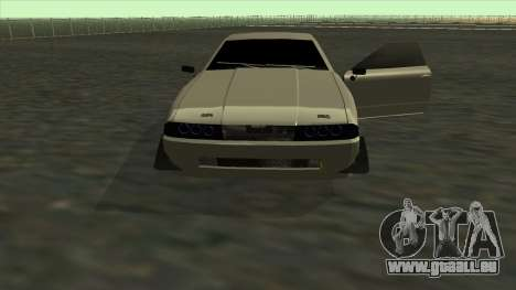 Elegy Roportuance pour GTA San Andreas vue de dessus