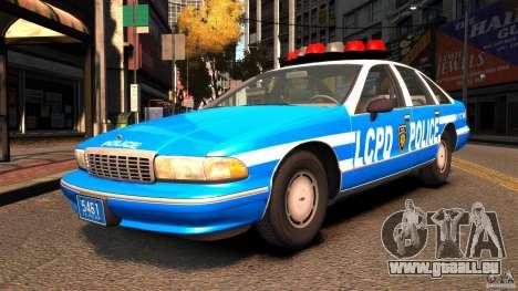 Chevrolet Caprice 1993 LCPD für GTA 4
