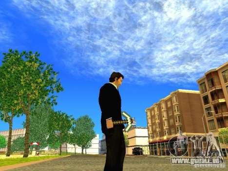 Wählen Sie aus dem Spiel Minecraft für GTA San Andreas her Screenshot