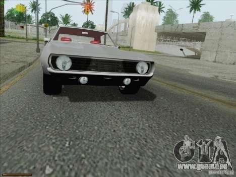 Chevrolet Camaro 1969 für GTA San Andreas